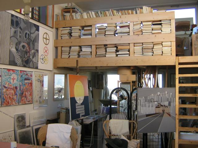 Atelier in München Lieselotte Karoline Sandfort
