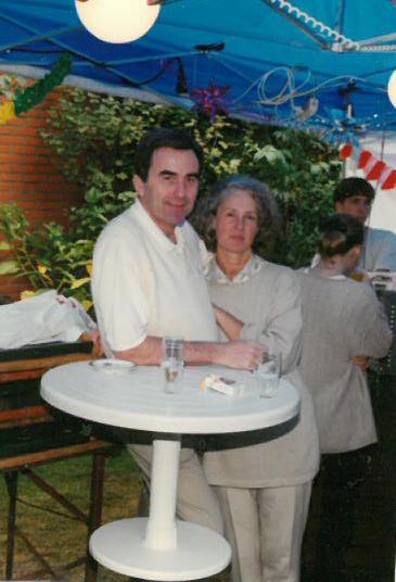 Lieselotte Karoline Sandfort mit Ehemann